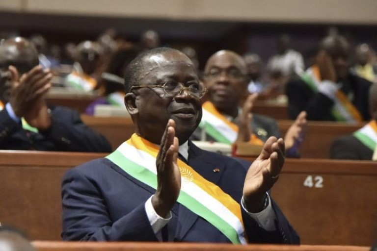 Ahoussou Jeannot dans ses pleins pouvoirs au Sénat