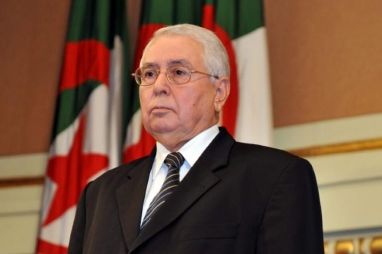 Abdelkader Bensalah président par intérim  d'Algérie