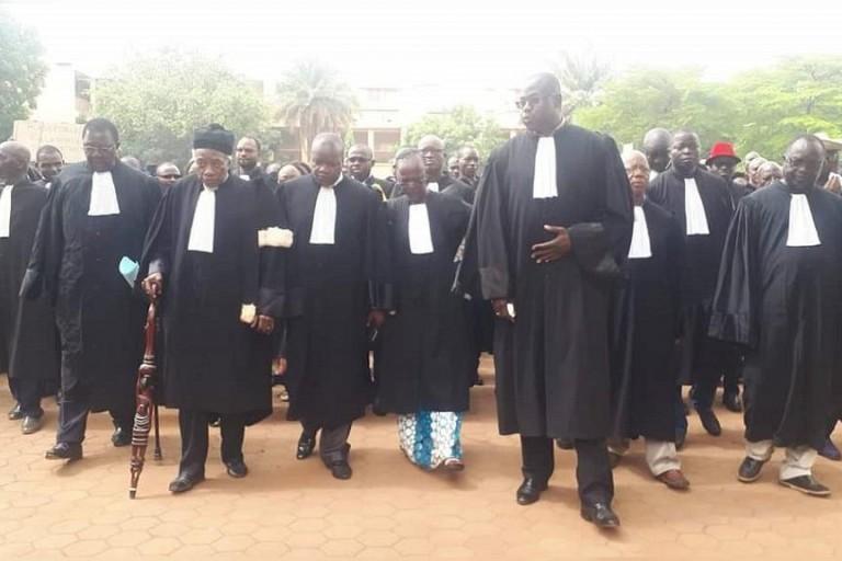 Les avocats du Burkina Faso en colère