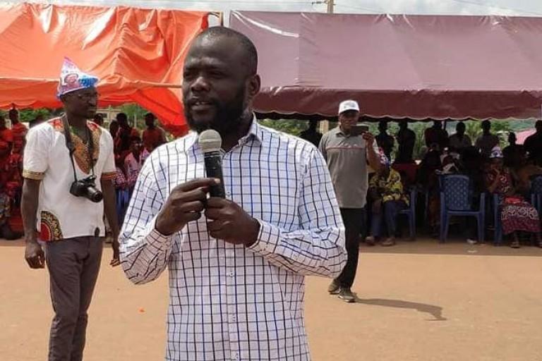 Koua Justin, PCO de la Fête de la liberté