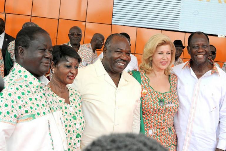Ali Bongo, médiateur entre Ouattara et Bédié