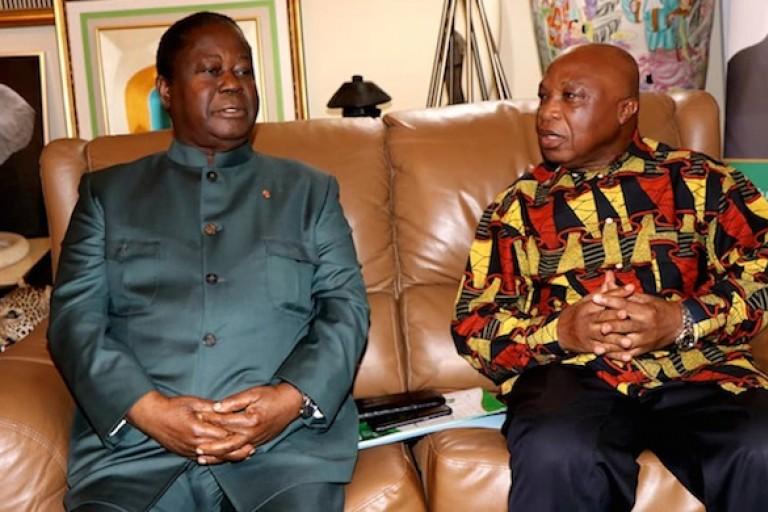 L'alliance PDCI - FPI en marche. Assoa Adou chez Bédié
