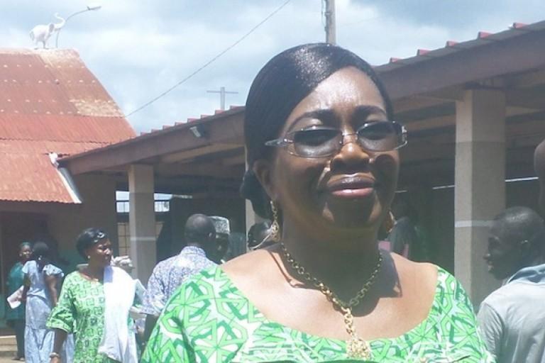 Mme Camara Kinaya Juliette, députée Pdci a dit non à Amadou Soumahoro