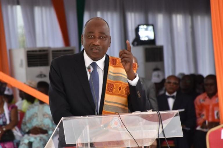 Le Tweet de Amadou Gon Coulibaly qui ignore les responsables de l'importation du riz avarié en Côte d'Ivoire