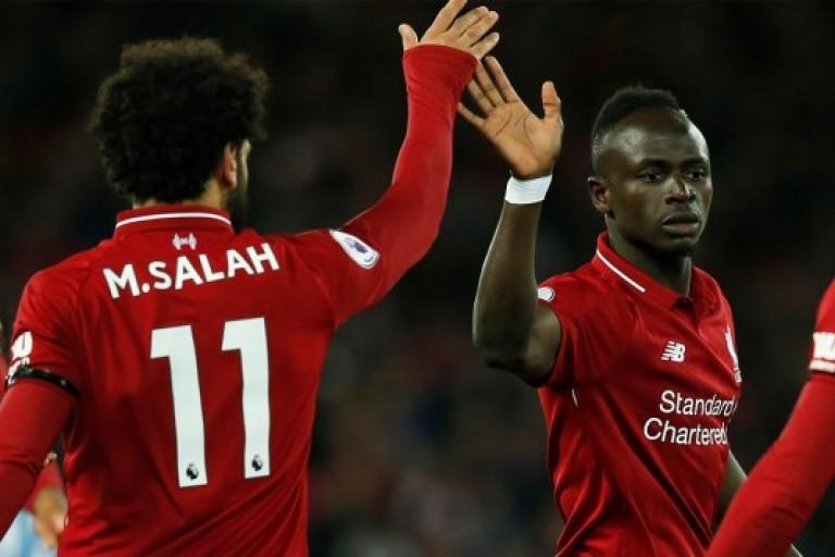 Mohamed Salah partage le Soulier d'Or avec Mané et Aubameyang
