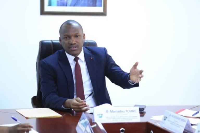 Mamadou Touré, ministre de  la promotion de l'emploi des jeunes