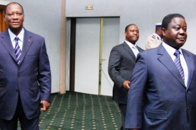Henri Konan Bédié et Ouattara, curieux Lobbying des chefs traditionnels