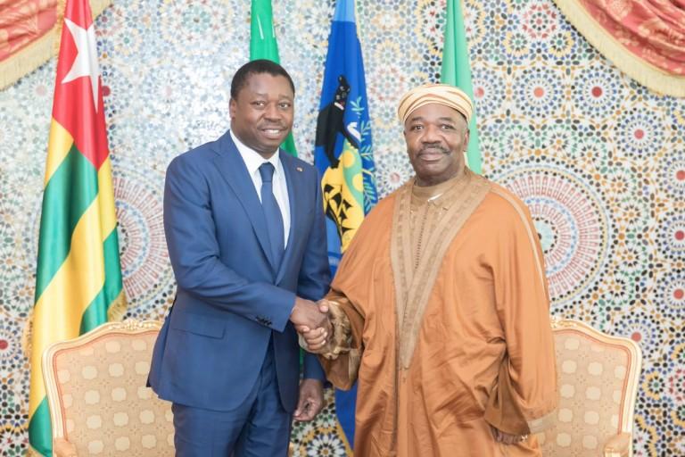 Ali Bongo a reçu Faure Gnassingbé