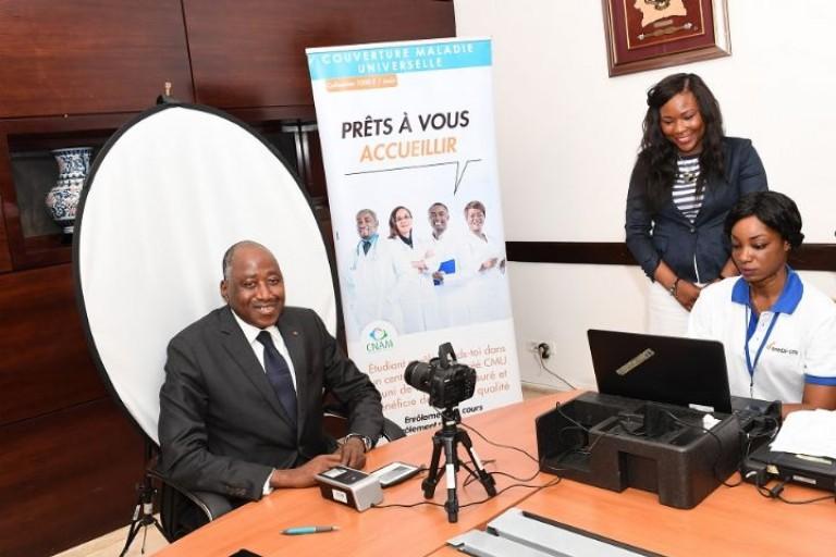 Amadou Gon confirme la date de démarrage de la CMU