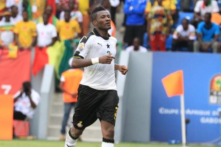 Asamoah Gyan quitte l'équipe du Ghan
