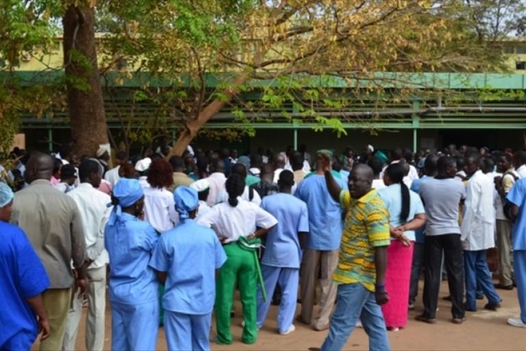 Le Burkina Faso menacé par une grève des agents de la santé
