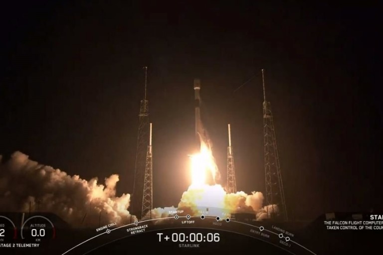 60 satellites du projet Starlink déja en orbite