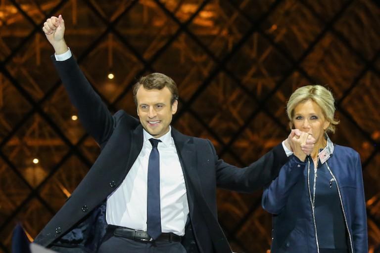 Emmanuel Macron célèbre sa deuxième année à l'Elysée
