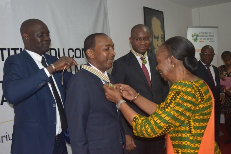 Henriette Diabaté investit le Conseil de l'ordre de la communication et des médias