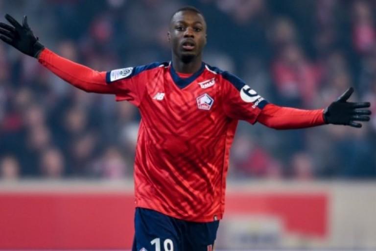 Nicolas Pepe excelle avec Lille cette année