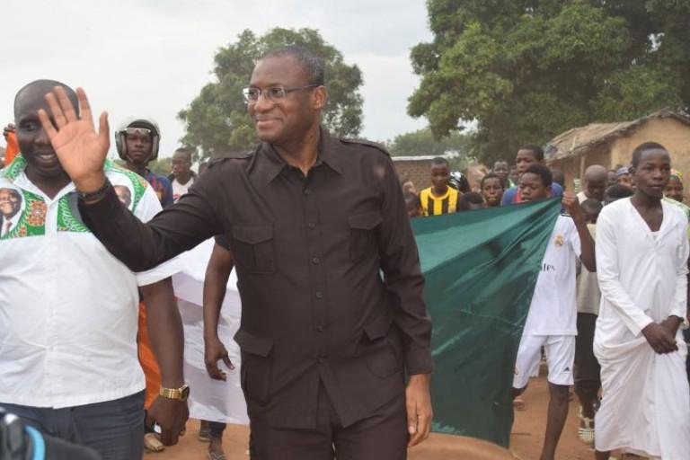 Sidi Touré a effectué une tournée à Béoumi