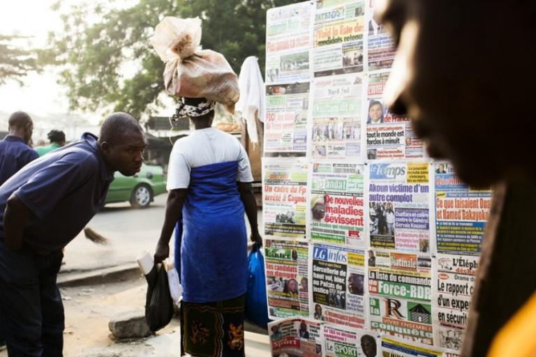Titrologie: Revue de presse de Côte d'Ivoire du 13 mai 2019