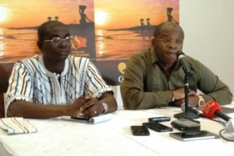 Siandou Fofana et Felix Anoblé