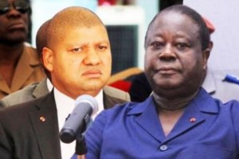 Henri Konan Bédié - Côte d'Ivoire et Jean-Louis Billon