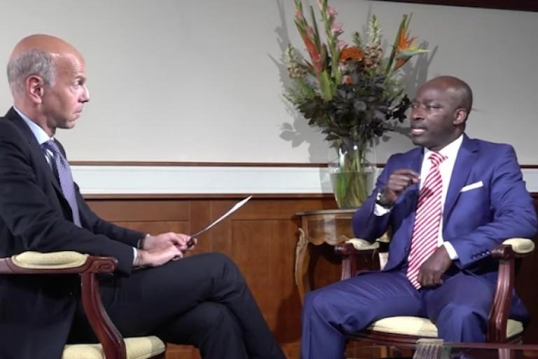 Interview de Charles Blé Goudé sur france 24