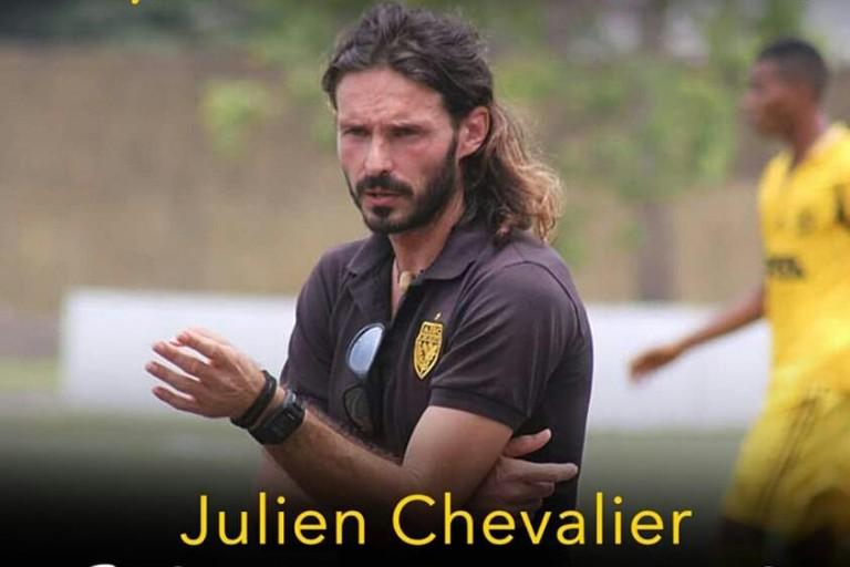 Julien Chevalier, nouvel entraineur de l'Asec Mimosas
