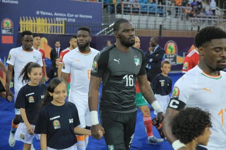 Gbohouo Sylvain a été le meilleur ivoirien face au Maroc