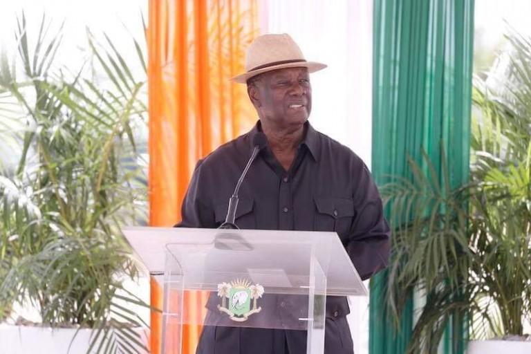 Alassane Ouattara proet des élections démocratique 2020
