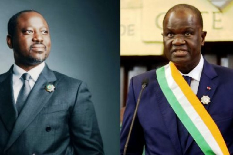 Guillaume Soro - Amadou Soumahoro, un duel fratricide à l'APF