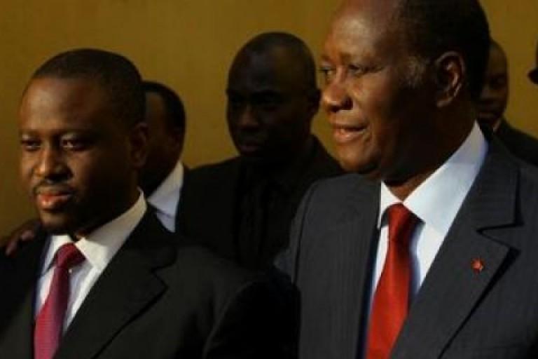 Guillaume Soro et Alassane Ouattara  Semblent avoir atteint  le point de non retour dans la crise qui les oppose