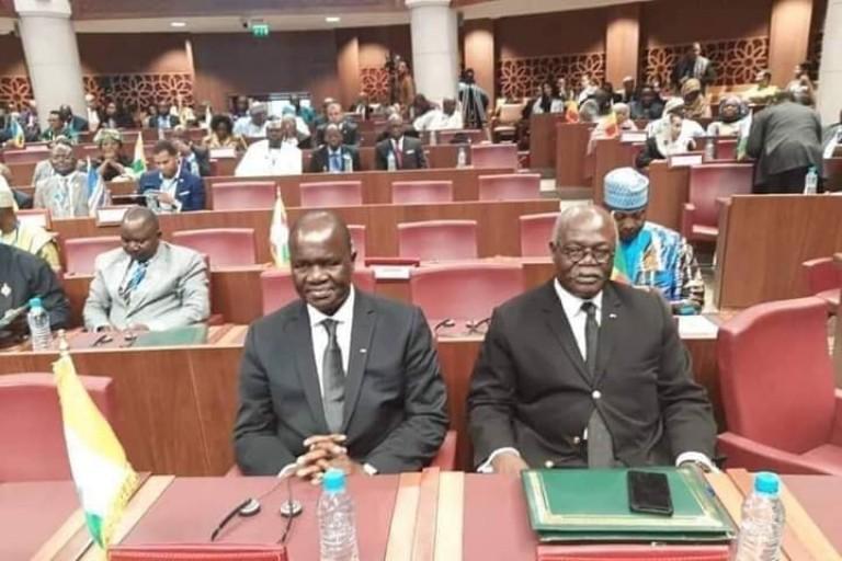 Amadou Soumahoro, Président de l'Assemblée de Côte d'ivoire