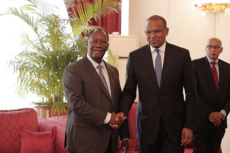 Alassane Ouattara a échangé avec le Premier ministre malien