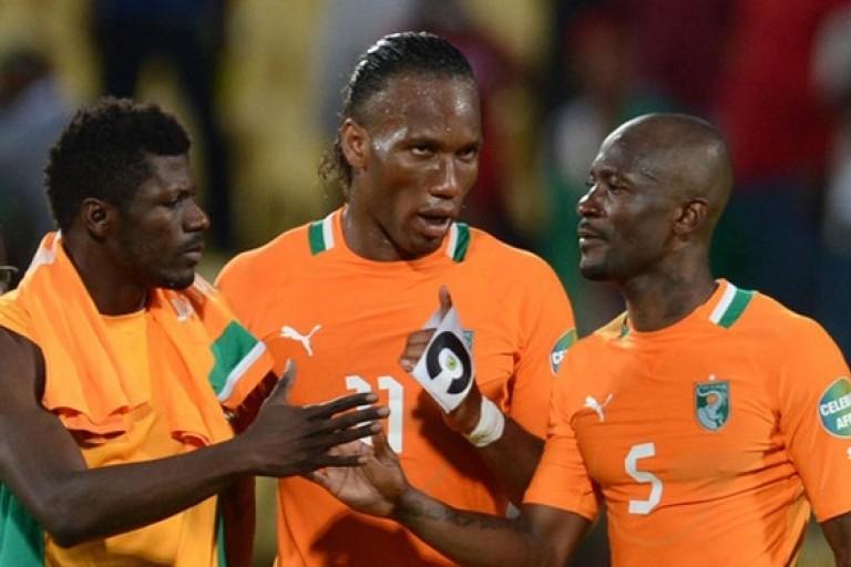 Didier Drogba traite Zokora Didier de menteur