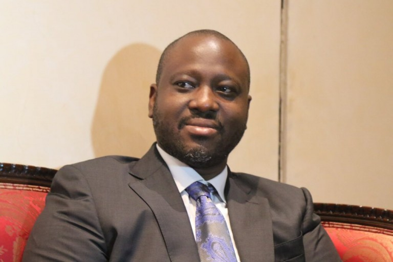 Guillaume Soro célèbre sa victoire sur Amadou Soumahoro