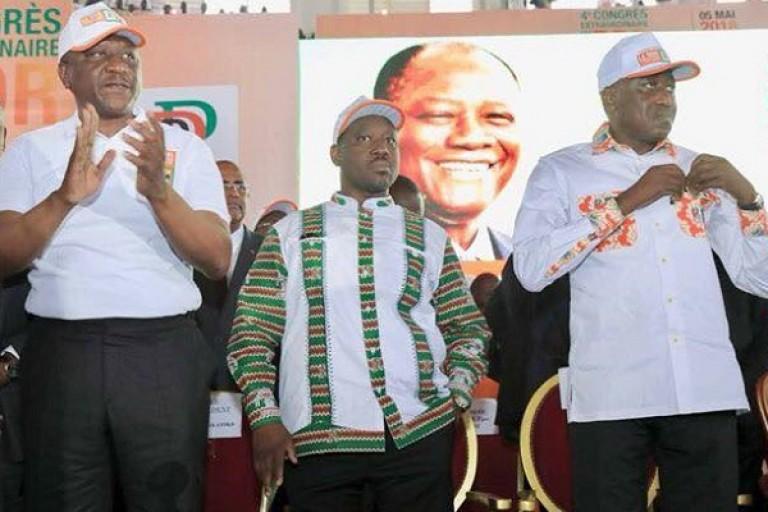 Guillaume Soro et Amadou Soumahoro se battent pour l'APF