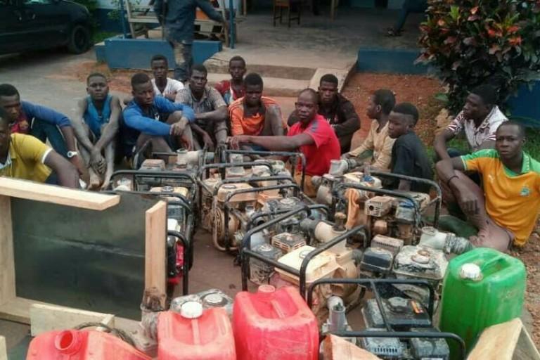 Orpaillage clandestin, la Côte d'Ivoire implique ses voisins dans la lutte