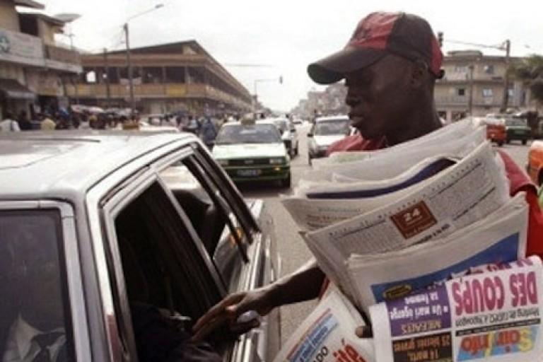 Titrologie : Revue de la presse ivoirienne du  25 mai 2020