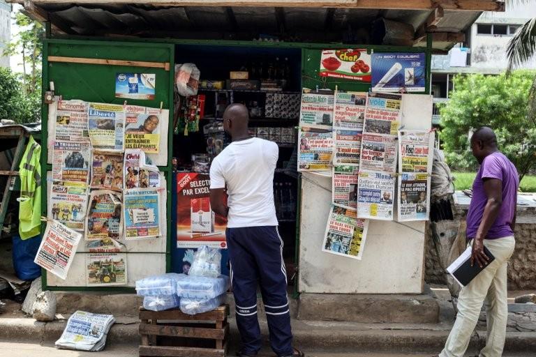 Titrologie: Revue de presse de Côte d'Ivoire du 13 juin 2019