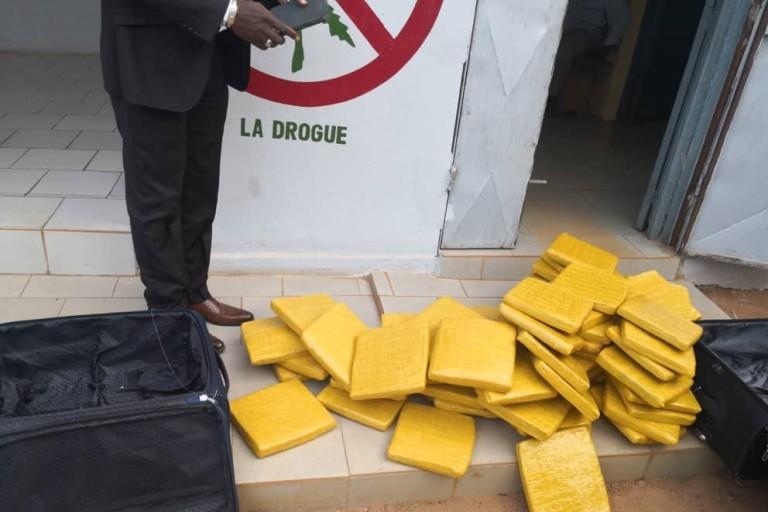 La cocaïne saisie au port de Dakar