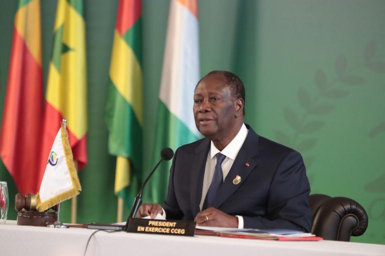 Alassane Ouattara au sommet de l'UEMOA