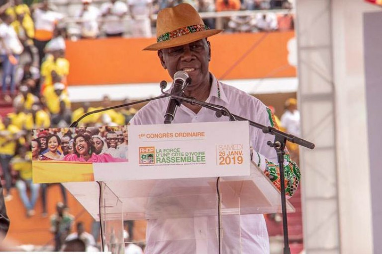 Alassane Ouattara a formé son commando