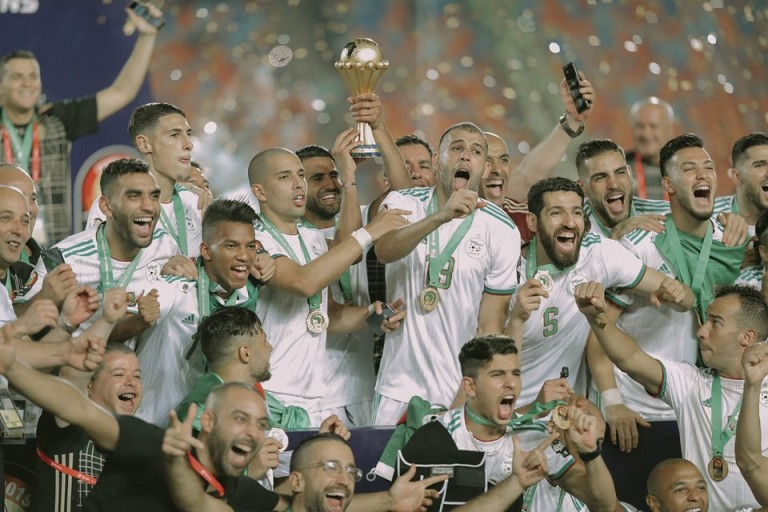 Les Algériens vainqueurs de la CAN 2019