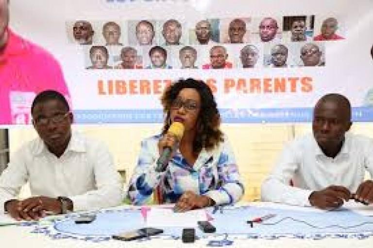 Désirée Douati, présidente de l'ONG AFFDO-CI  plaide auprès du président Alassane Ouattara la libération des détenus politique et militaire