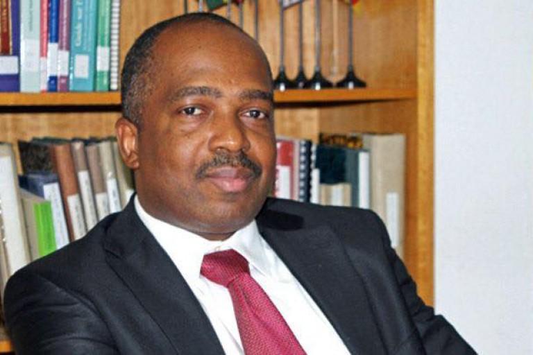 L'avocat ivoirien Michel Kizito Brizoua-Bi à la CAF
