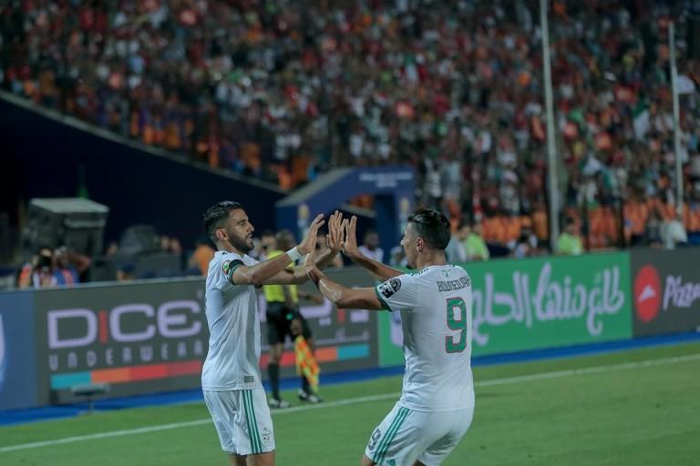 Riyad Mahrez héros de l'Algérie
