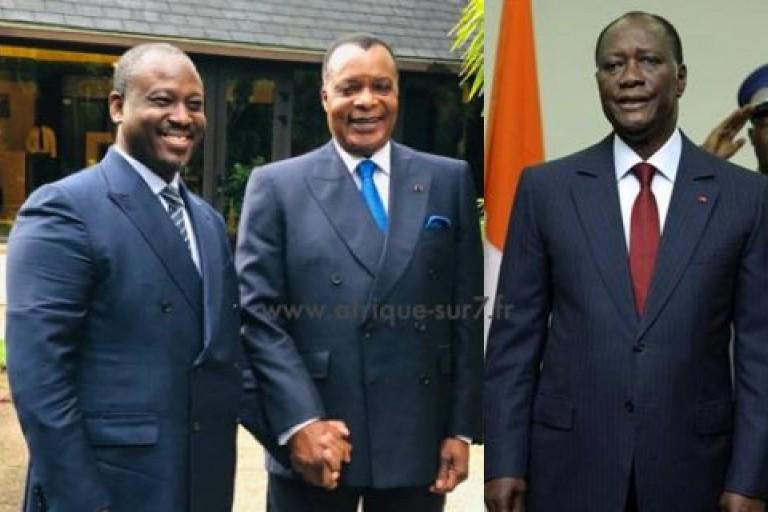 Soro Guillaume Sassou-Nguesso Alassane Ouattara