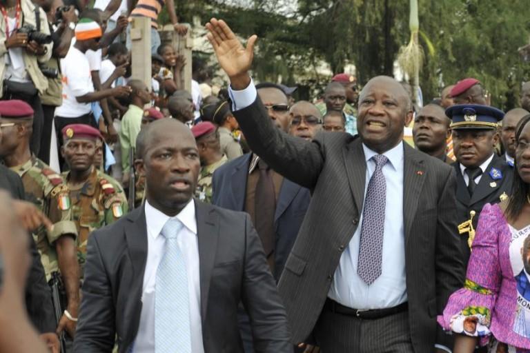 Simone  Gbagbo attend son époux Laurent Gbagbo en Côte d'Ivoire