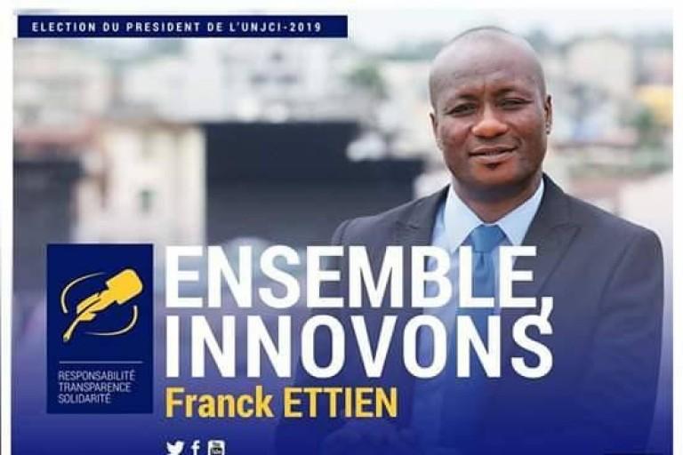 Franck Ettien a été licencié pour sa candidature à l'UNJCI