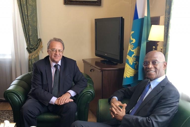 Mamadou Koulibaly a échangé avec le vice-ministre des affaires étrangères de Russie