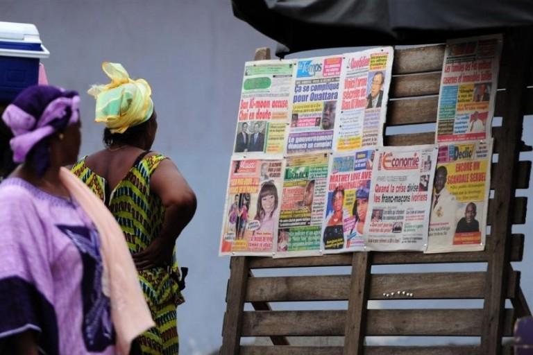 La titrologie du 9 juillet 2019, presse de Côte d'Ivoire