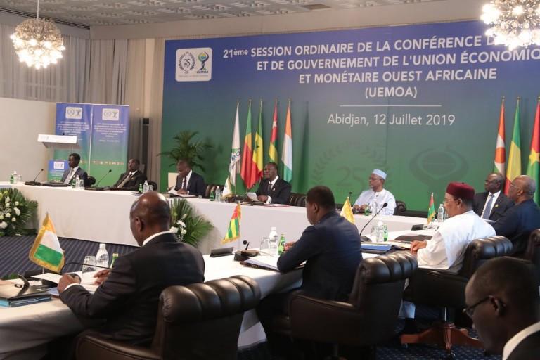 Le 21e Sommet ordinaire de l' UEMOA (Union monétaire et économique ouest-africaine) s'est ouvert le vendredi 12 juillet à Abidjan